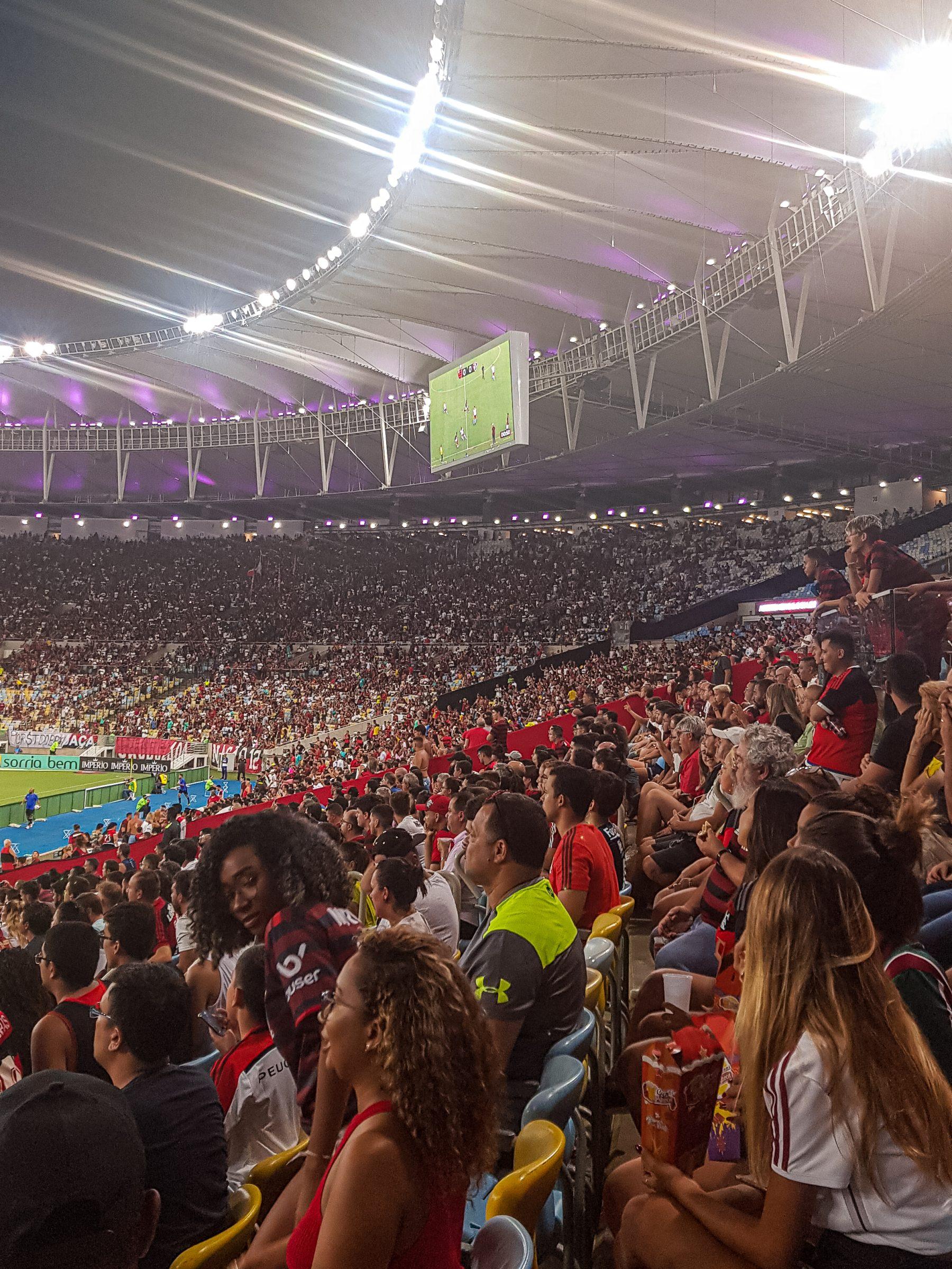 Voetbalwedstrijd Maracaña stadion – Rio de Janeiro