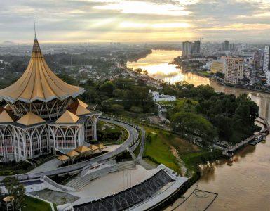 Overheidsgebouw-in-Kuching-Sarawak-Malaysia