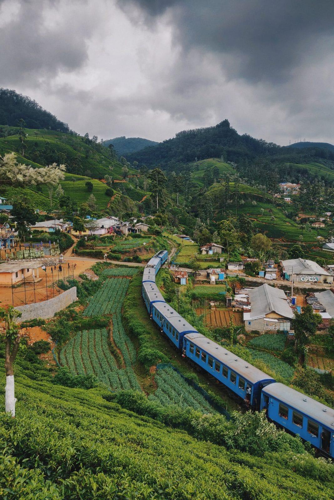 Naar Ella met de Trein - Sri Lanka