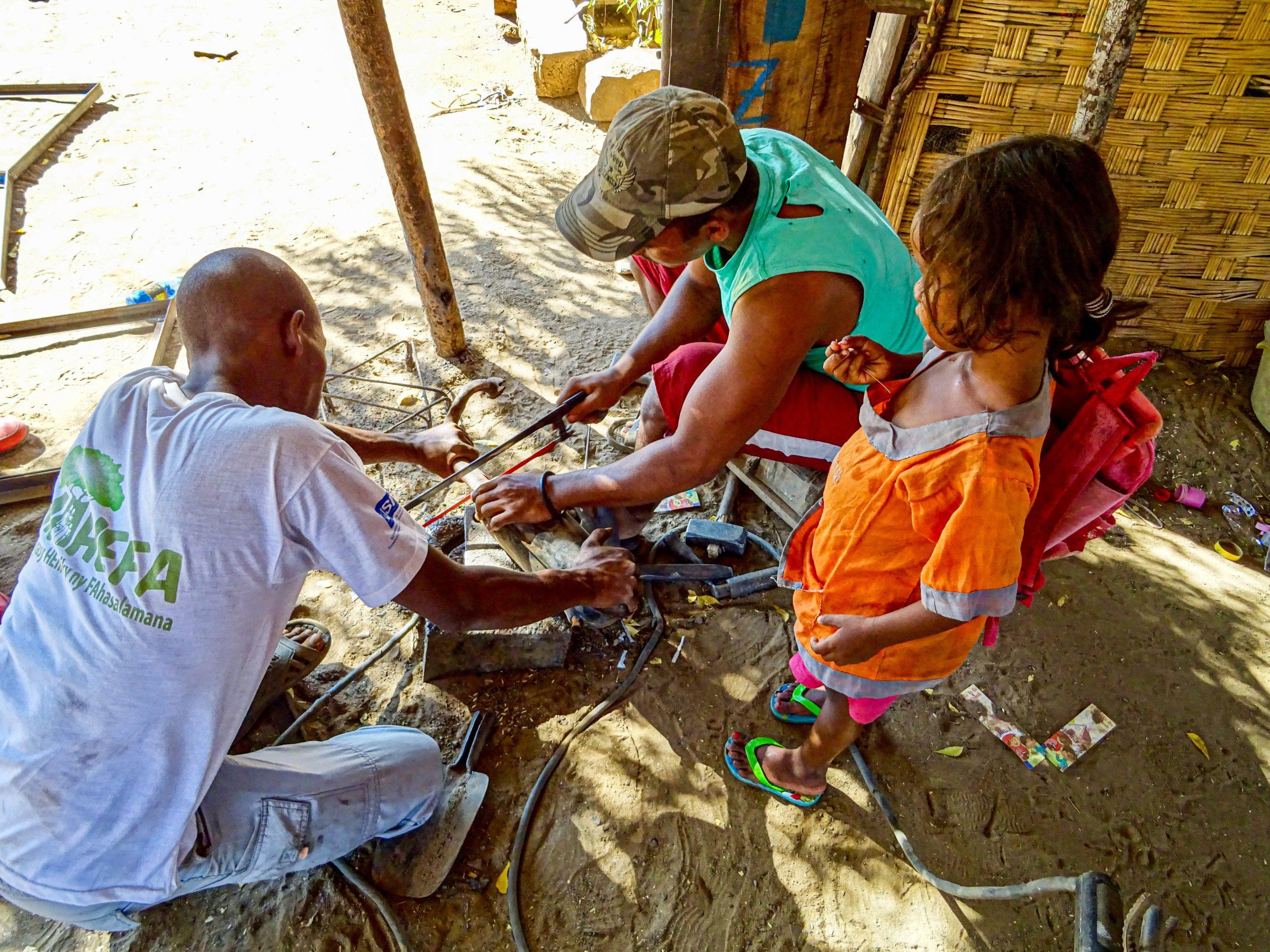 Reparatie knalpijp in Ankilizato