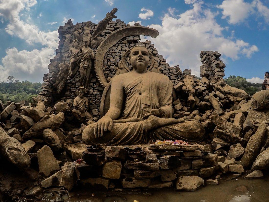 Ruïnes en Tempels in Sri Lanka