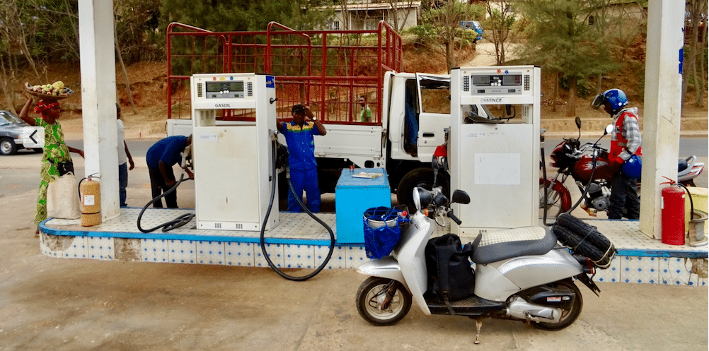 Tankbeurt in Rwanda