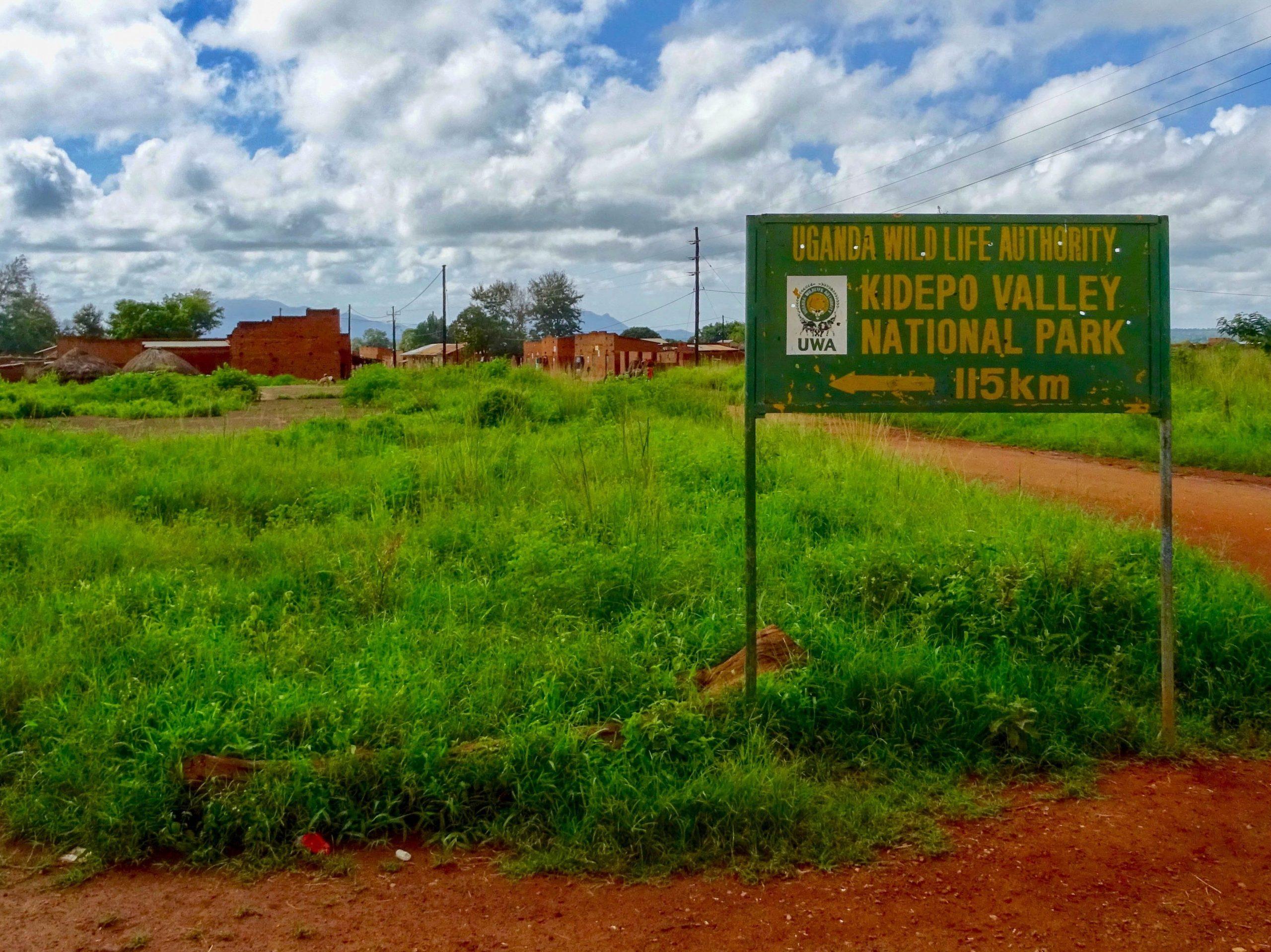 In Gwere is de afstand naar Kidepo nog 115 km