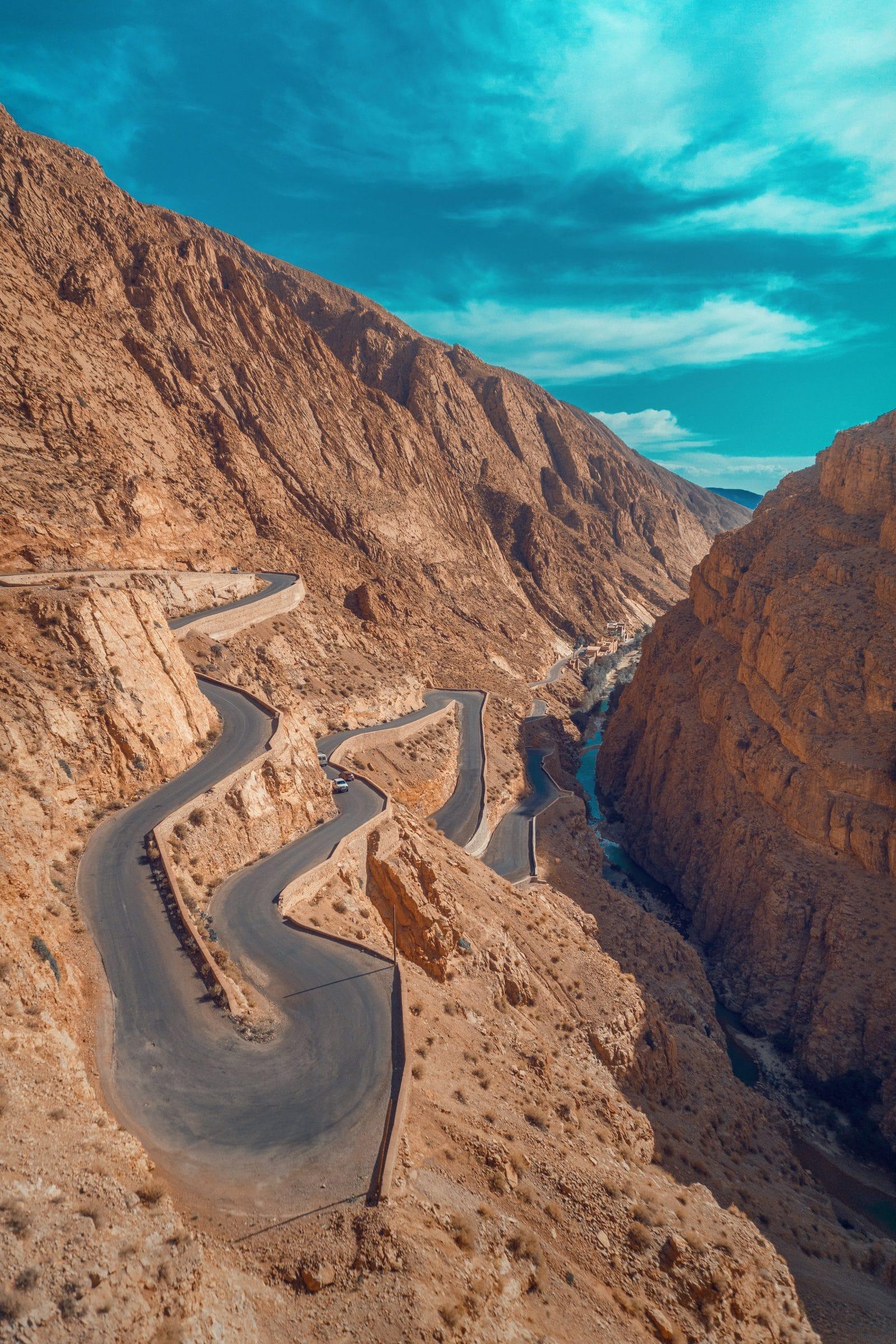 Weg naar Ouarzazate