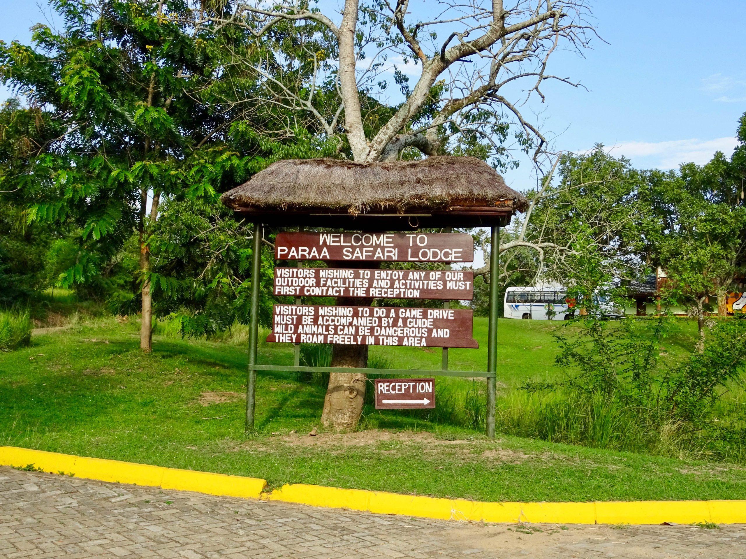 Welkom bij de Paraa Safari Lodge
