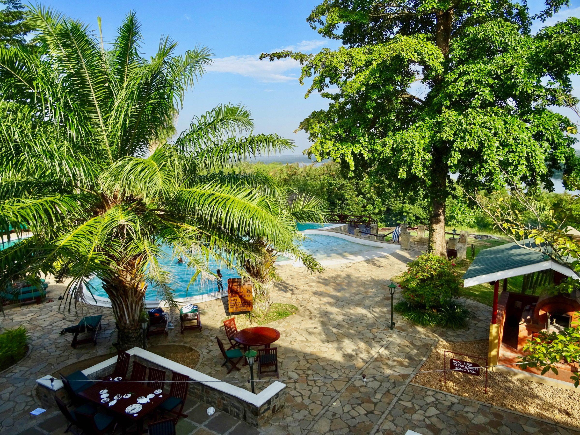 Zwembad Paraa Safari Lodge, Murchison Falls