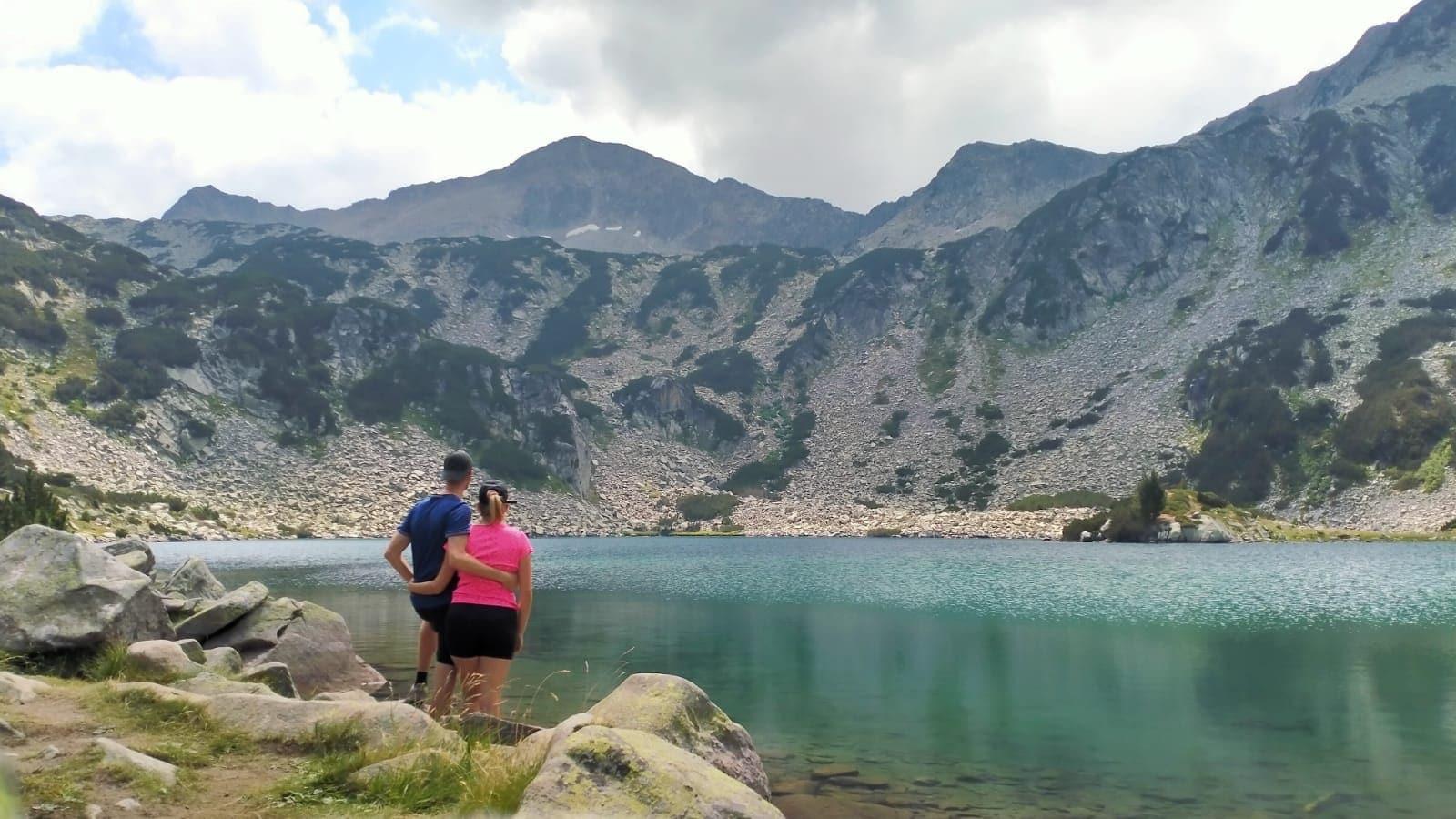 Bergmeer in het Pirin gebergte