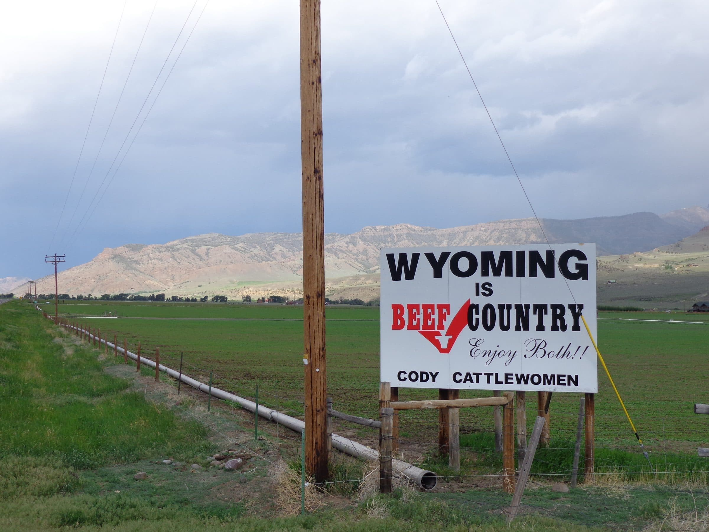 Wyoming is Beef Country