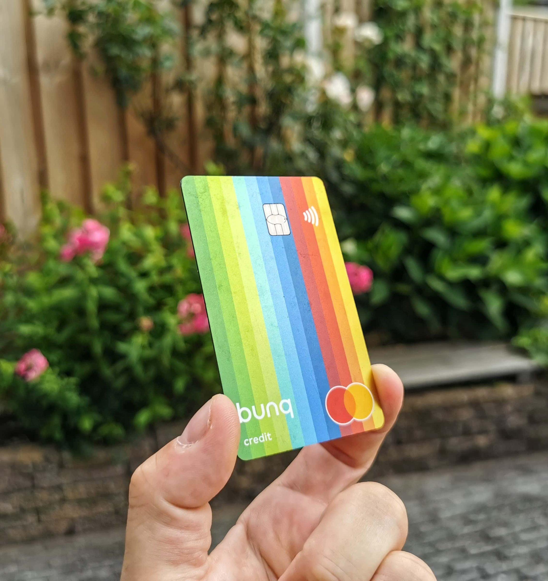 De Bunq Prepaid Creditcard (de Travel Card)