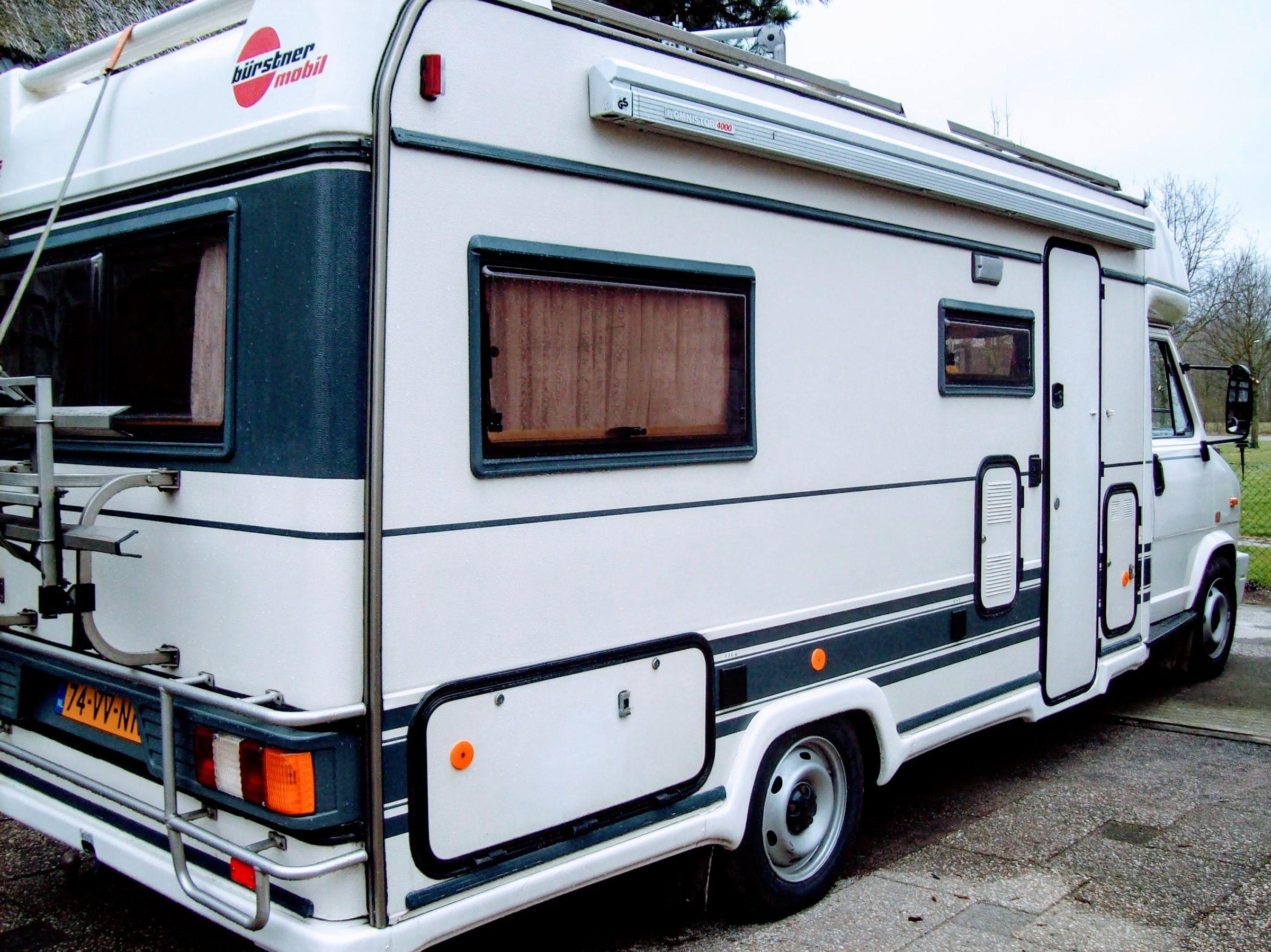 Een 'normale' camper met Burstner opbouw