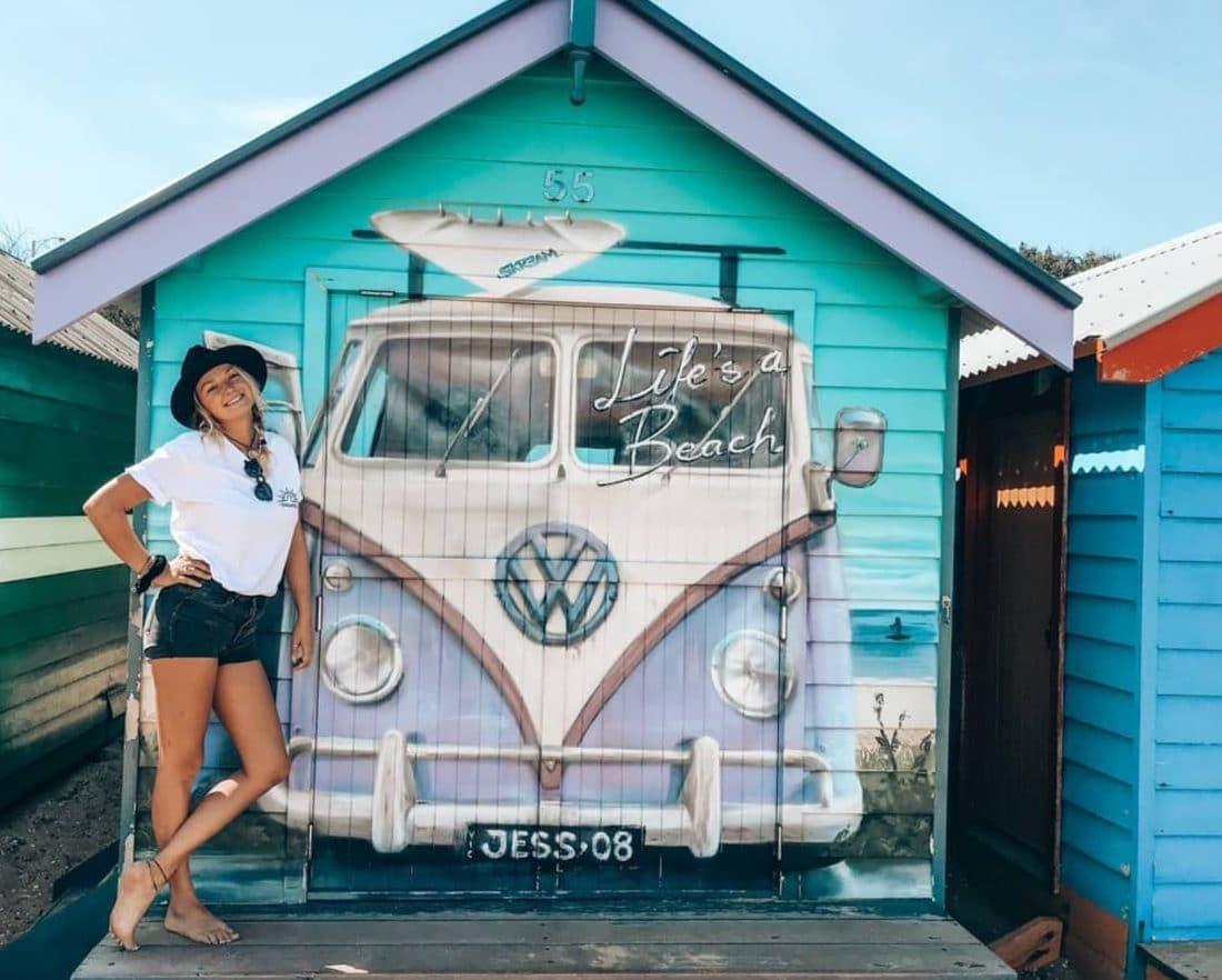 Met een campervan reizen is toch wel erg fijn in Australië