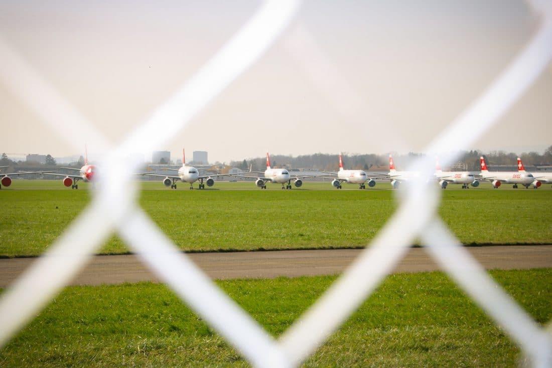 Veel vliegtuigen staan al maanden lang geparkeerd op vliegvelden