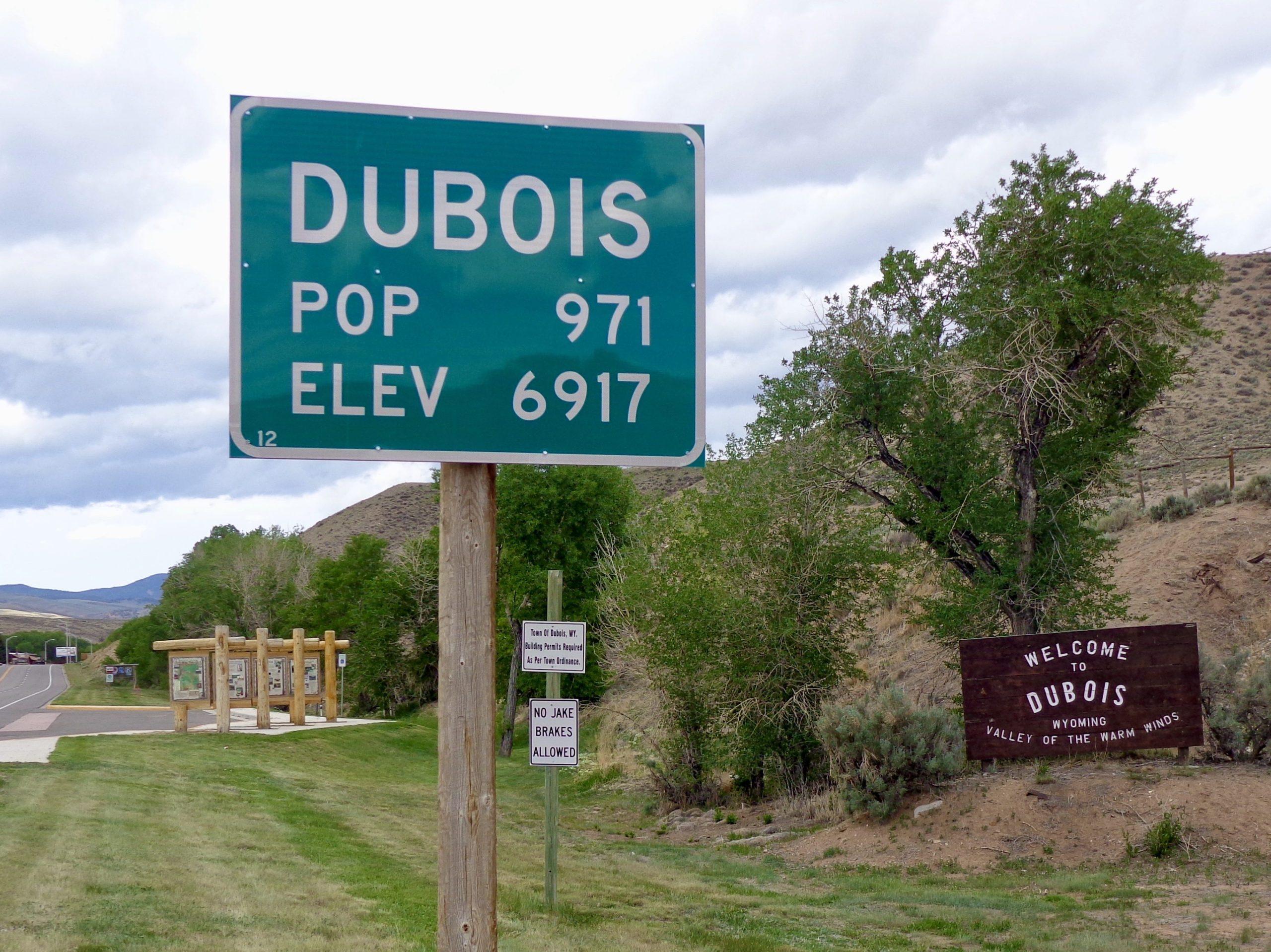 Welkom in Dubois
