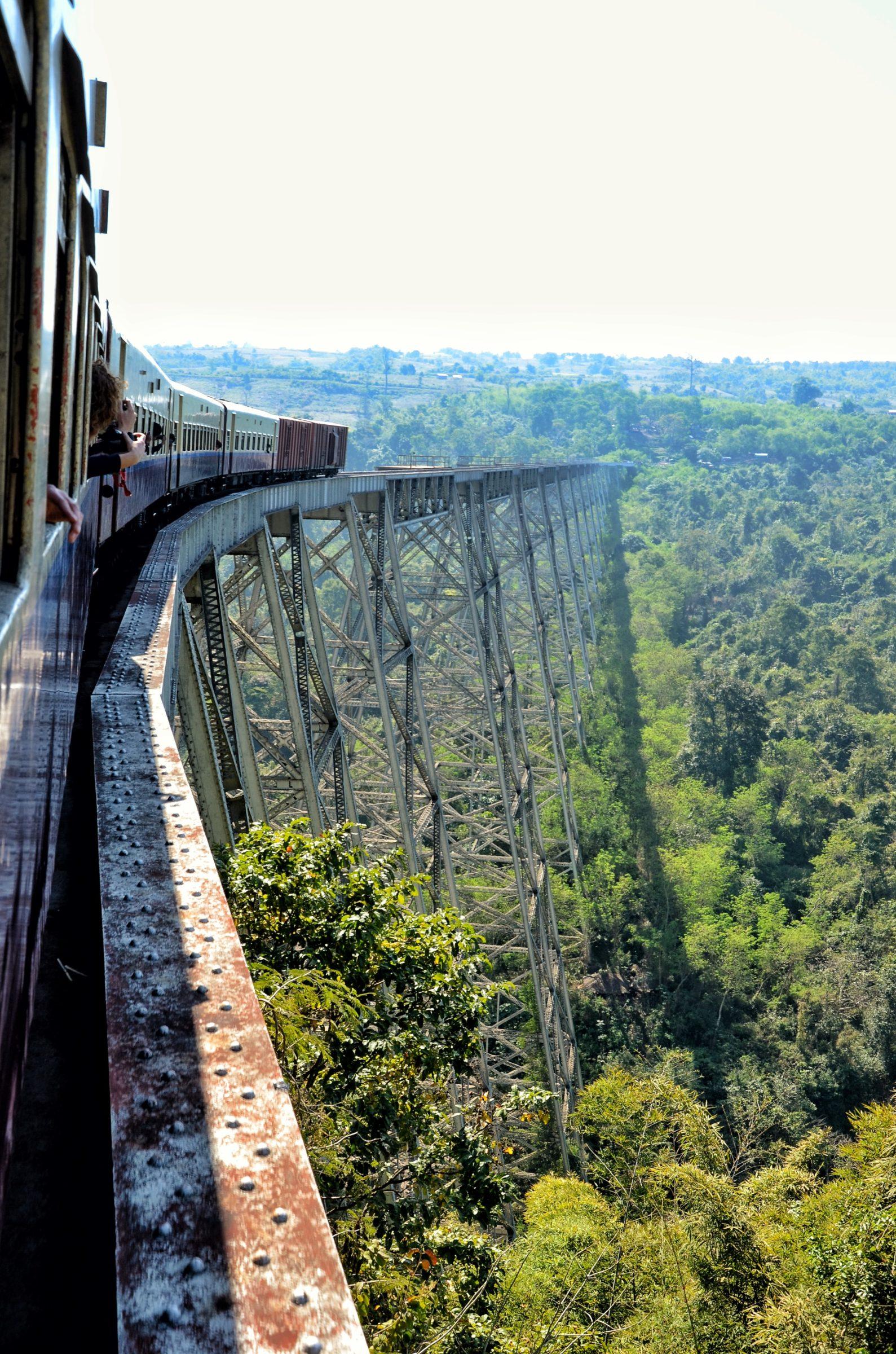 Gokteik viaduct - bizarre constructie