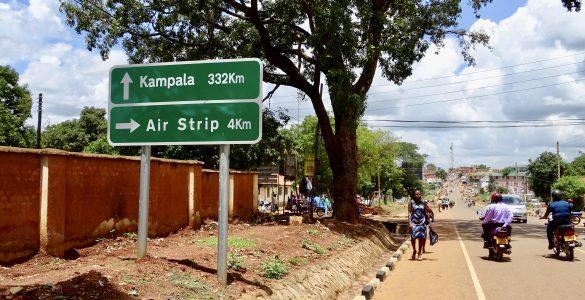 Het centrum van Gulu