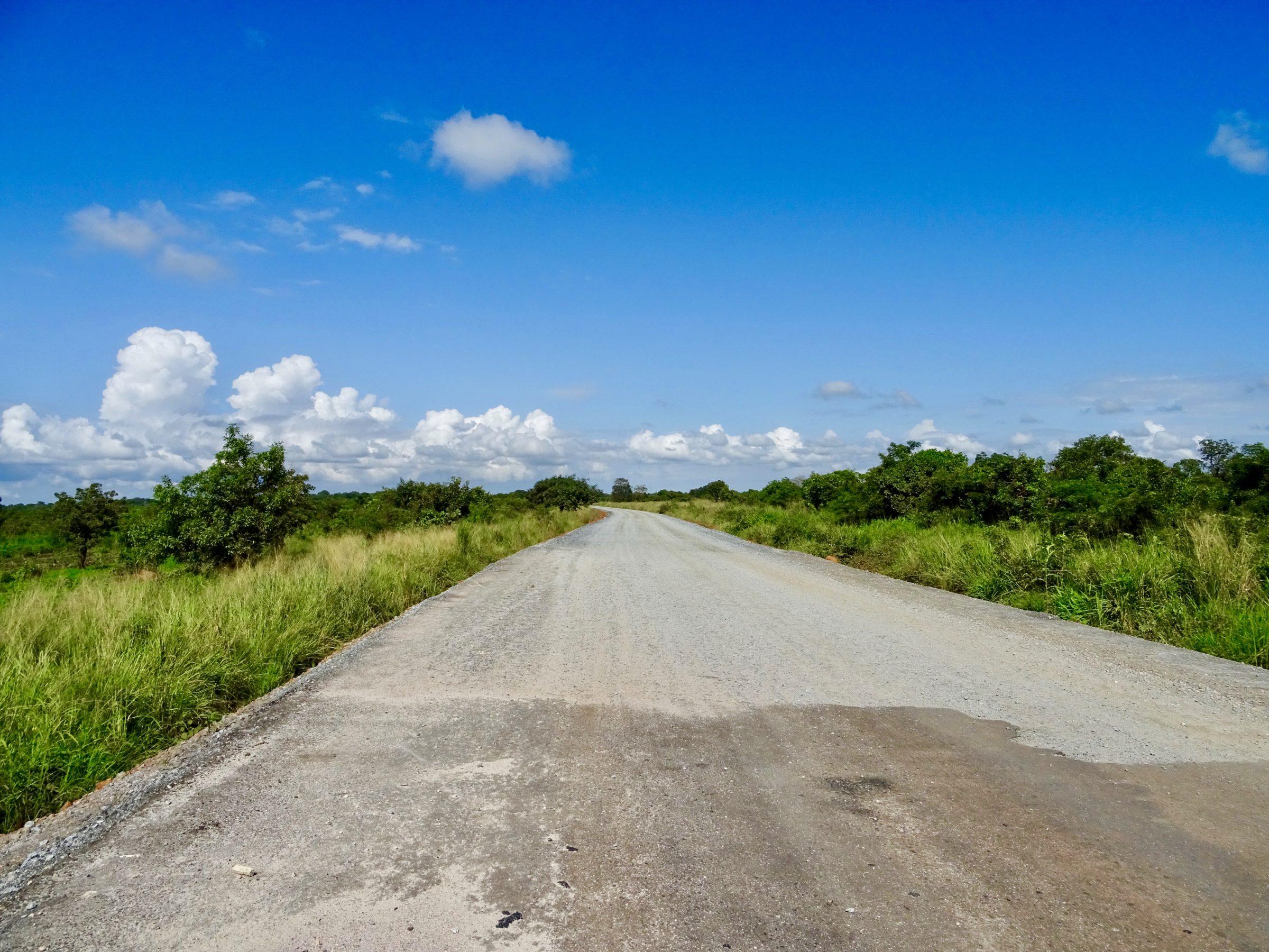 Een biljartlaken van 98 km: Gulu naar Kitgum