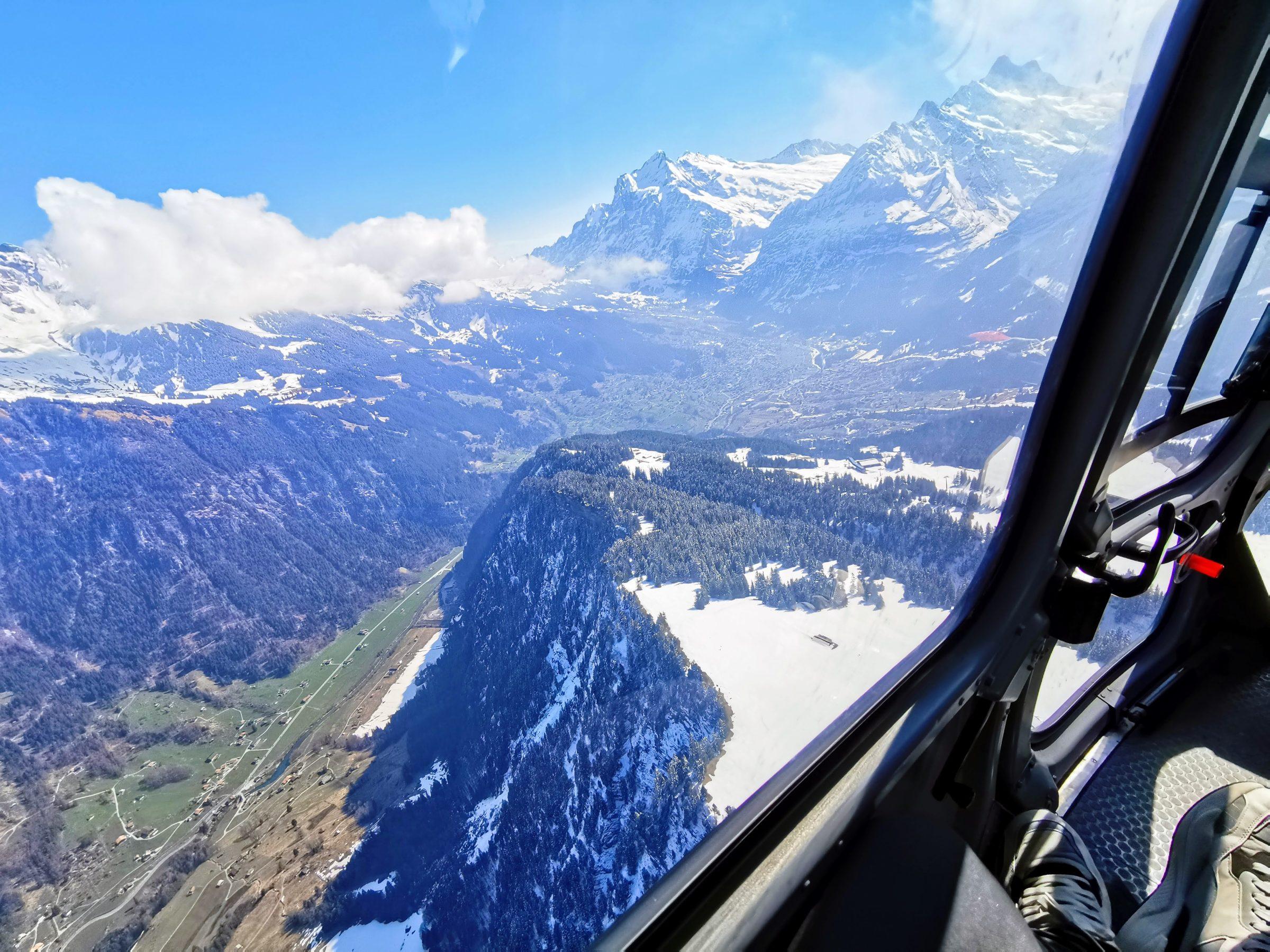 De eerste bergrug zijn we al over, hoogte circa 700 meter