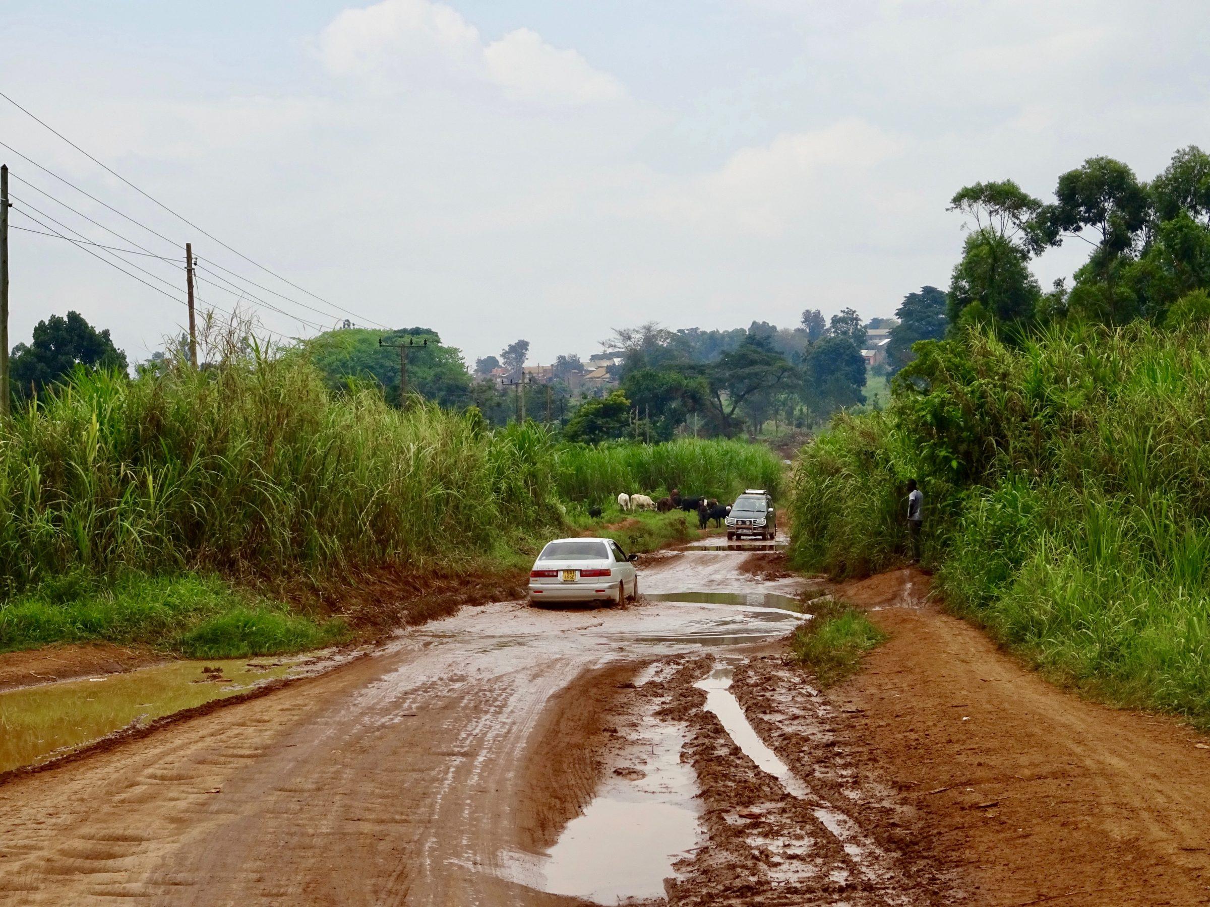 Het betere plassenwerk op 25 km van Hoima