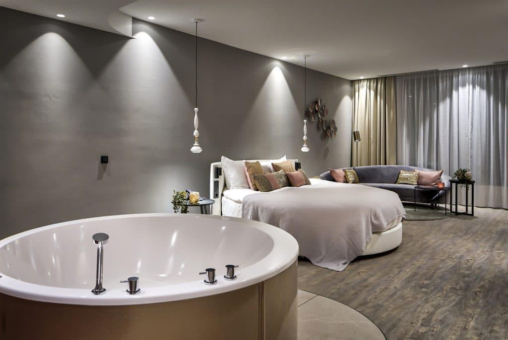 Hotel met Jacuzzi op de kamer