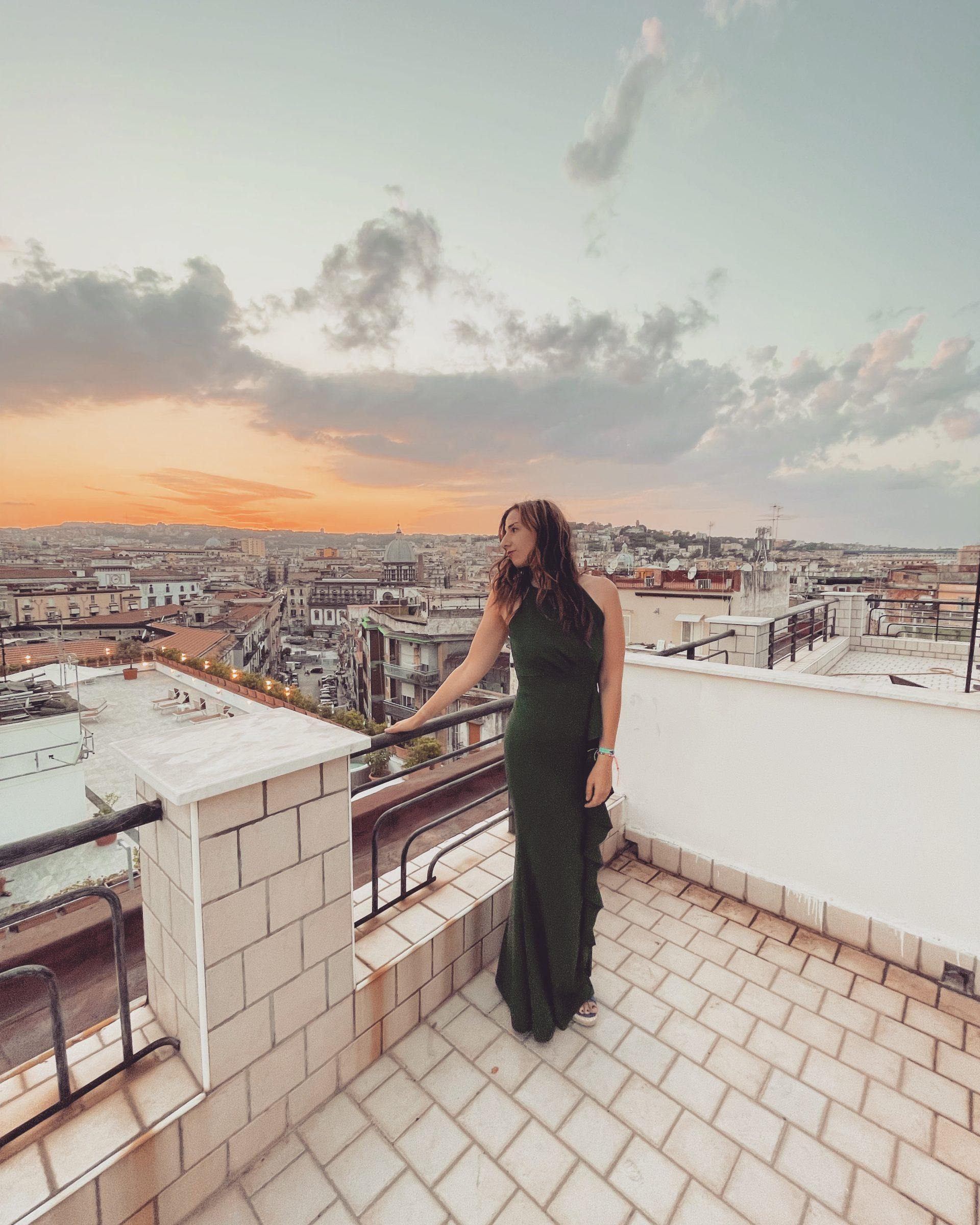 Uitzicht hotel Garden Napoli | Verblijf in Napels