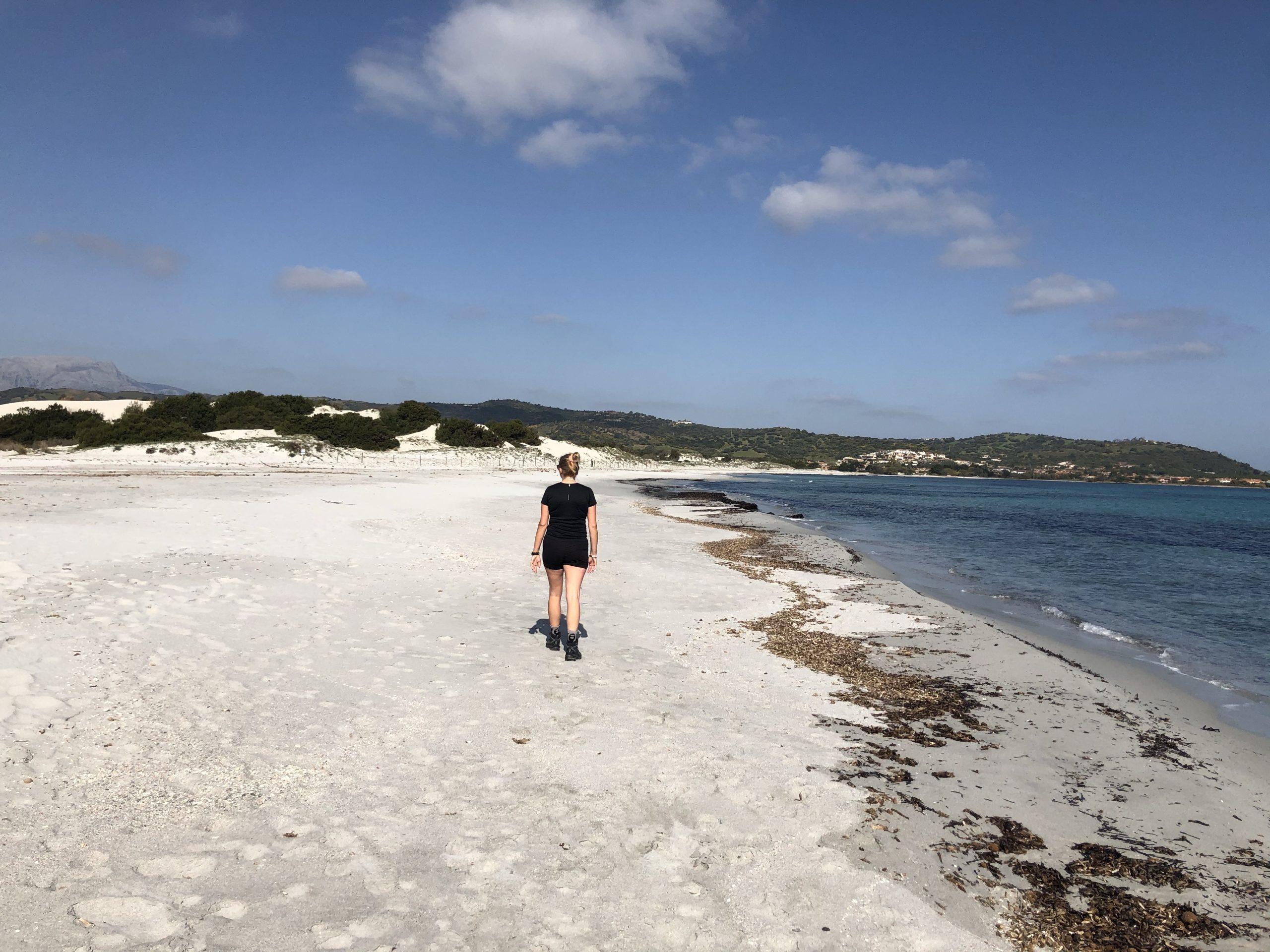 Uitgestorven stranden op Sardinie
