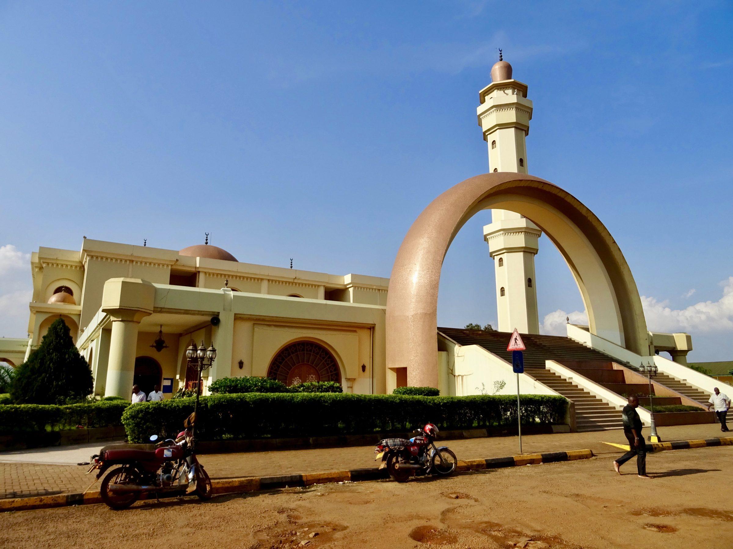 Uganda National Mosque (voorheen Gaddafi National Mosque) in Kampala