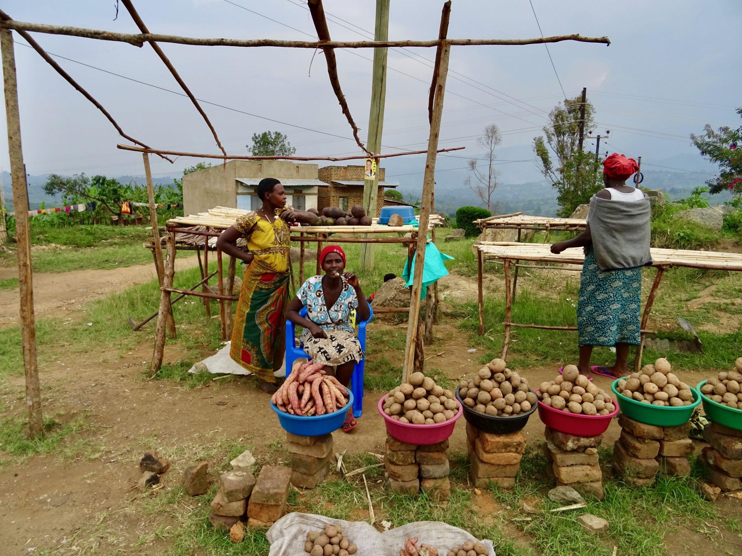 Aardappeldames in Kibito
