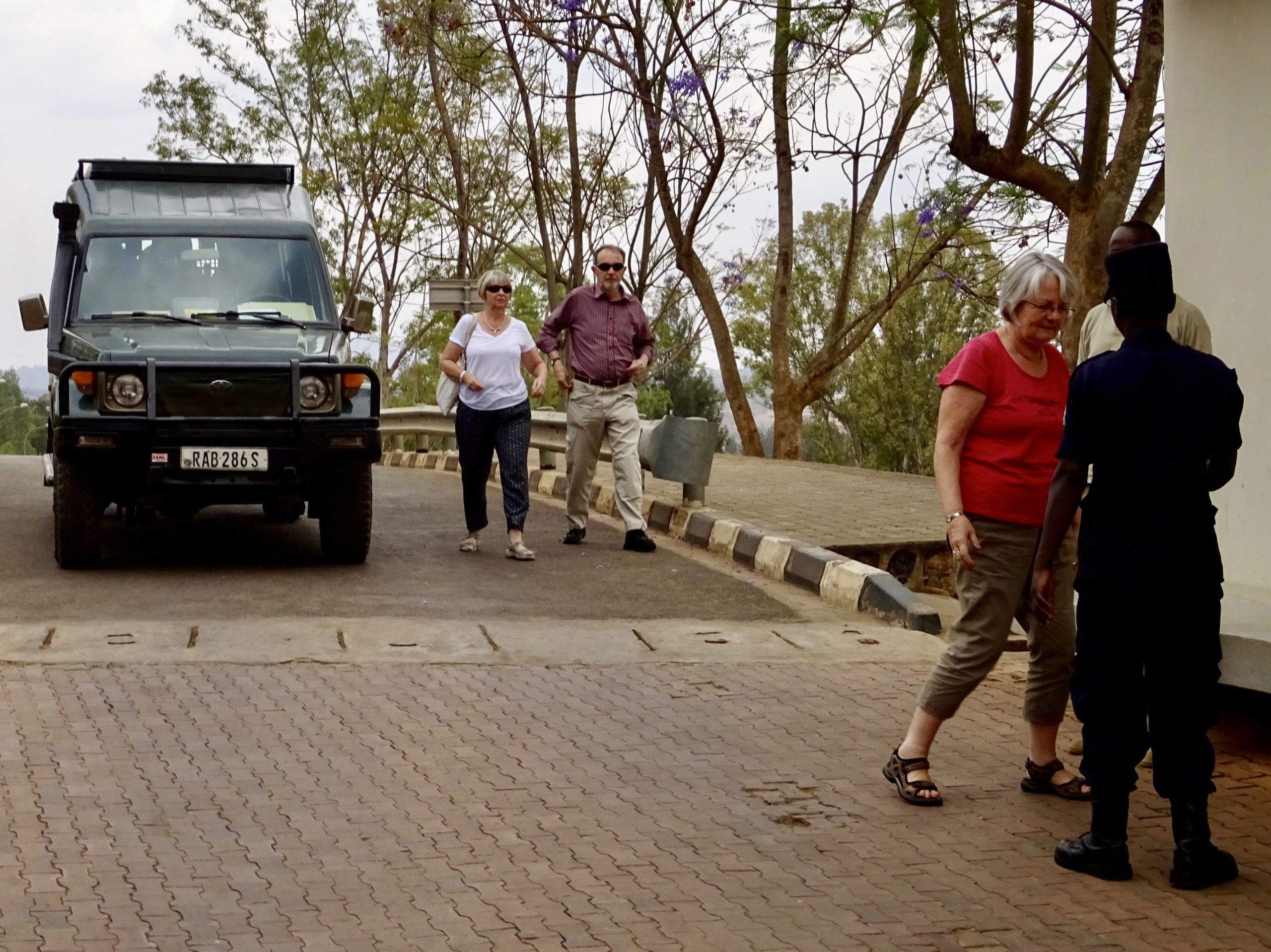Op 'safari' naar het Genocide Museum in Kigali