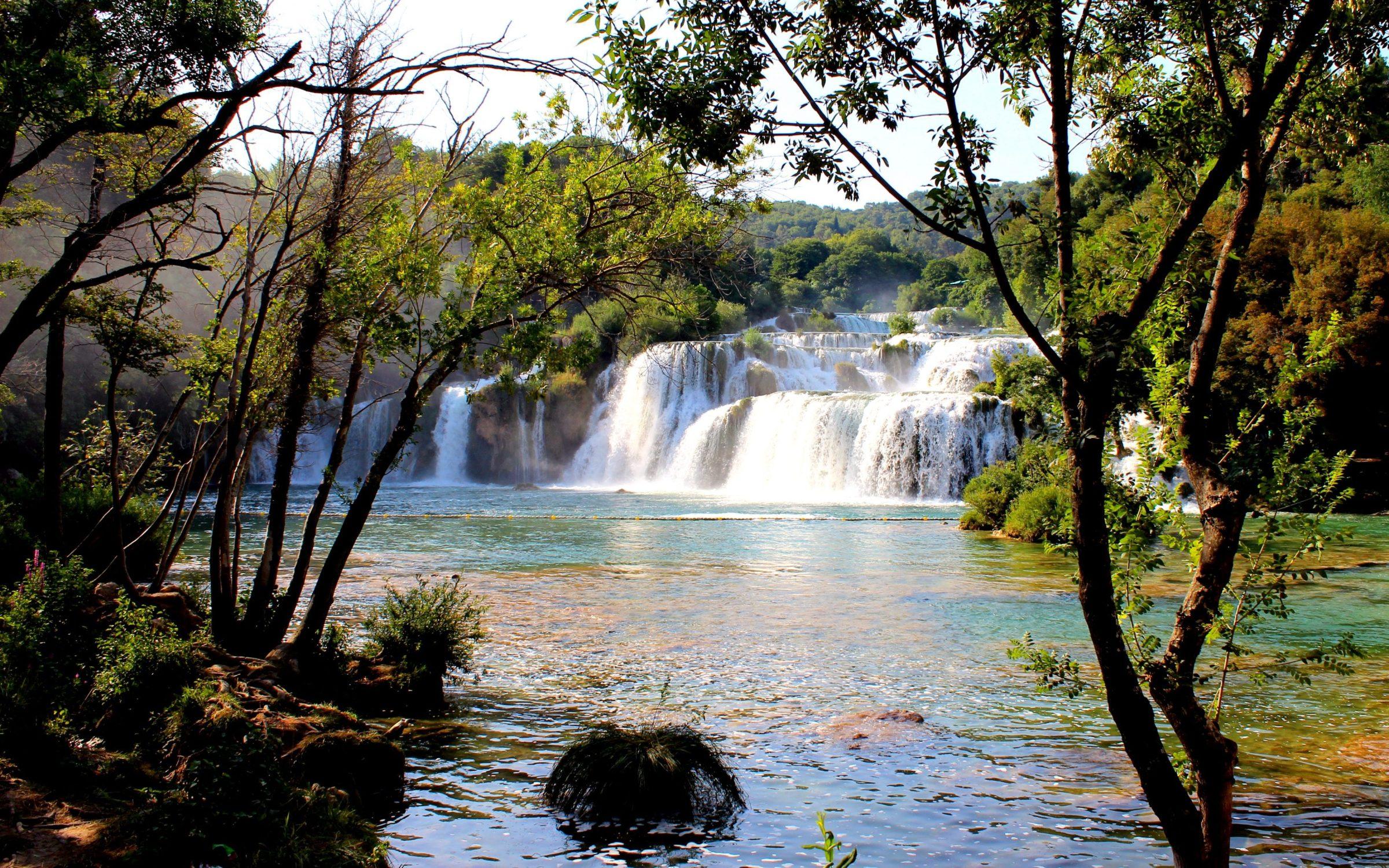 Krka watervallen, Kroatië