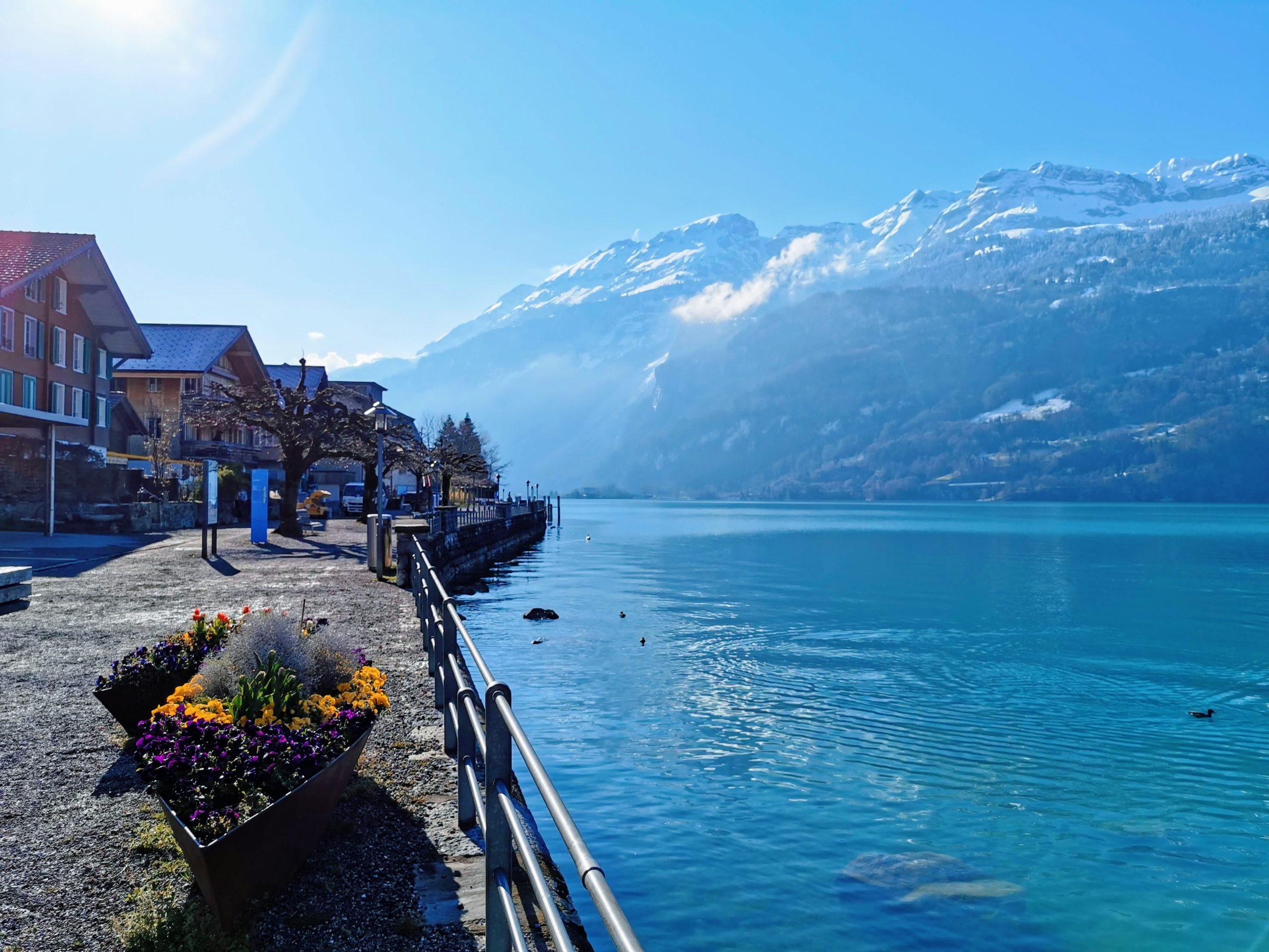 Lake Brienz bij Interlaken