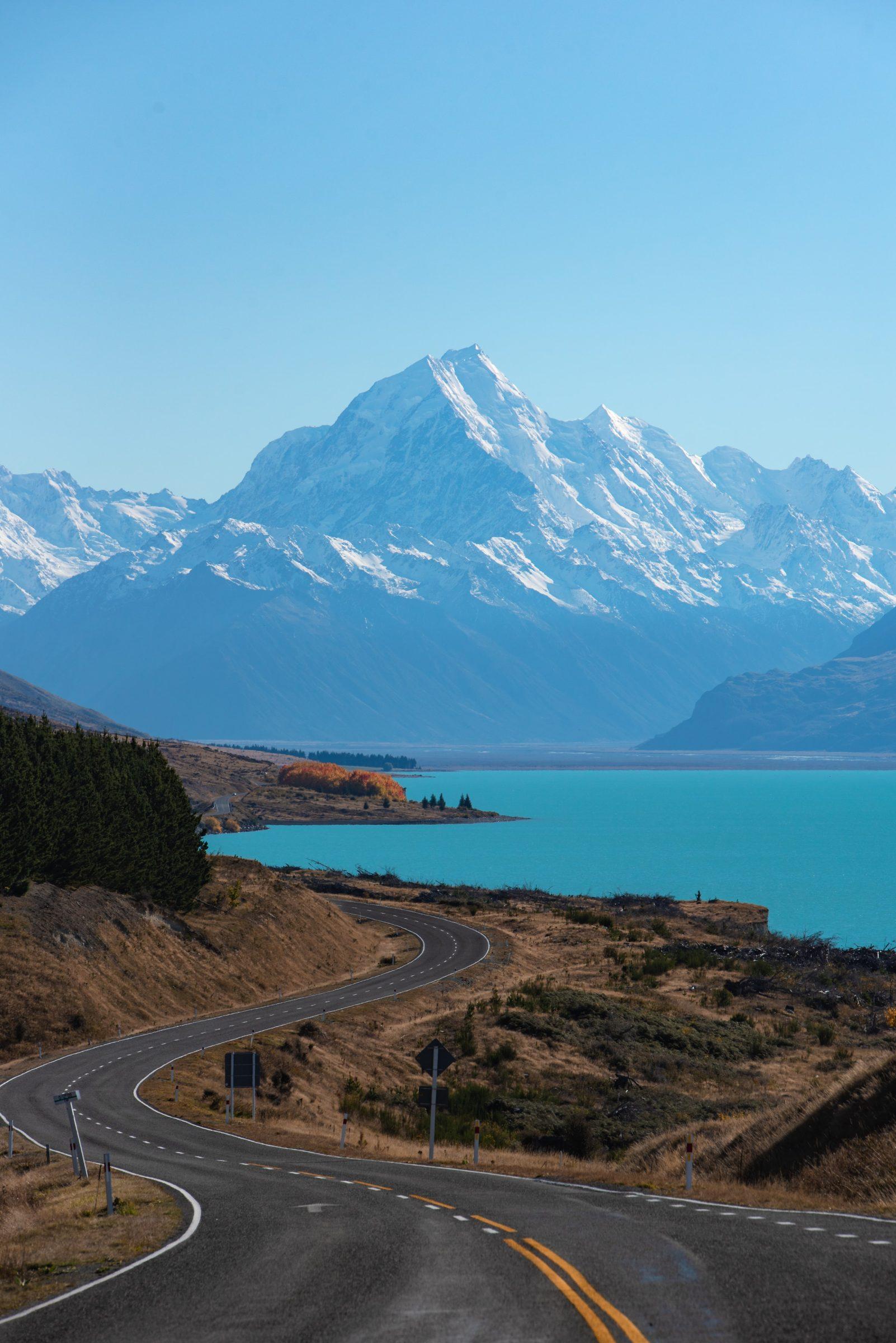 Overweldigend landschap in Nieuw-Zeeland