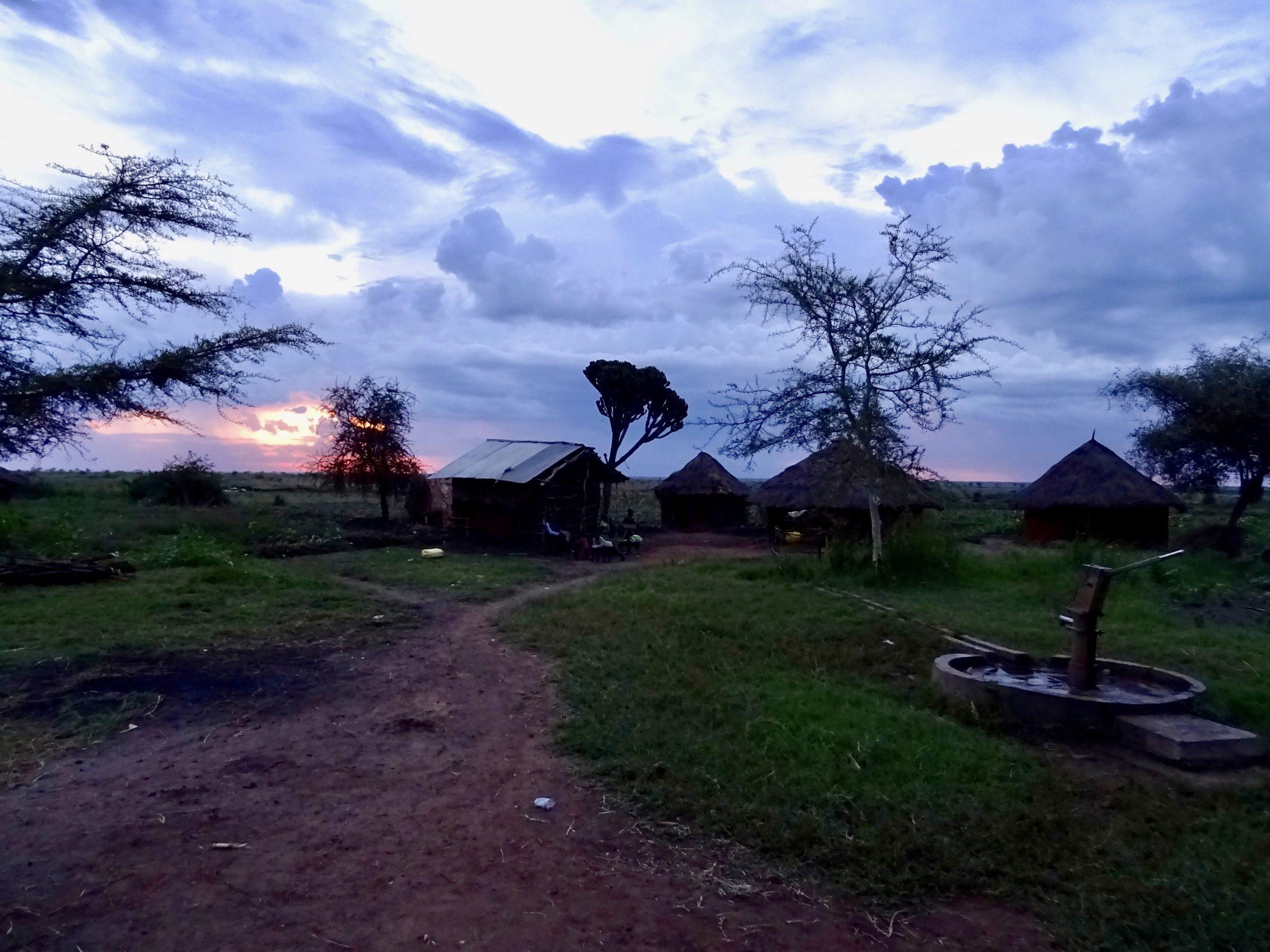 De duisternis is in aantocht nabij Cheptui