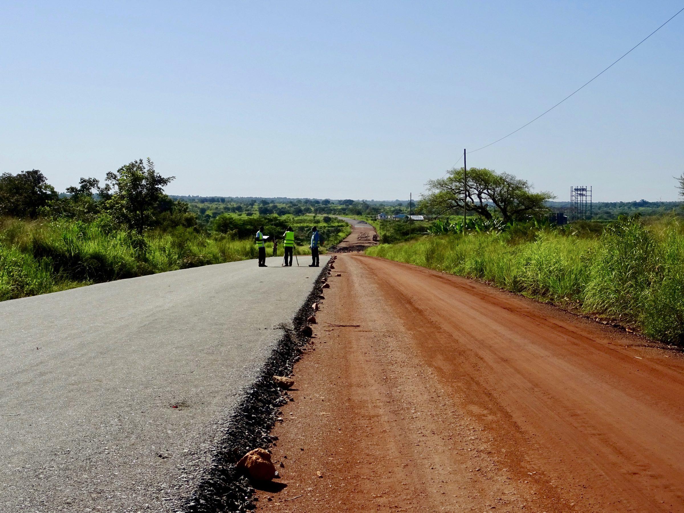 Upgrading van de Arua - Gulu weg