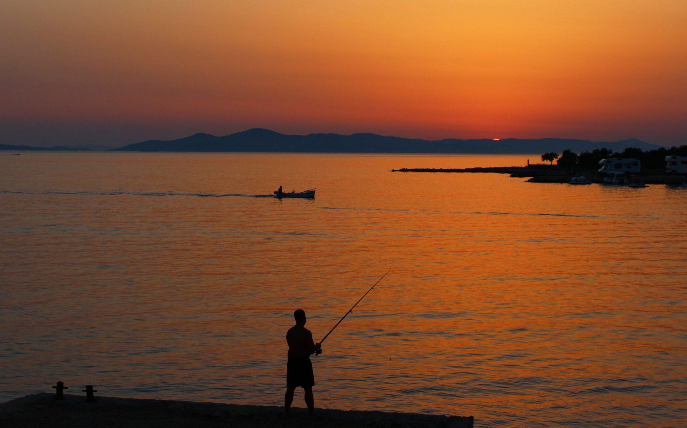 Camping bij de Kornati eilanden