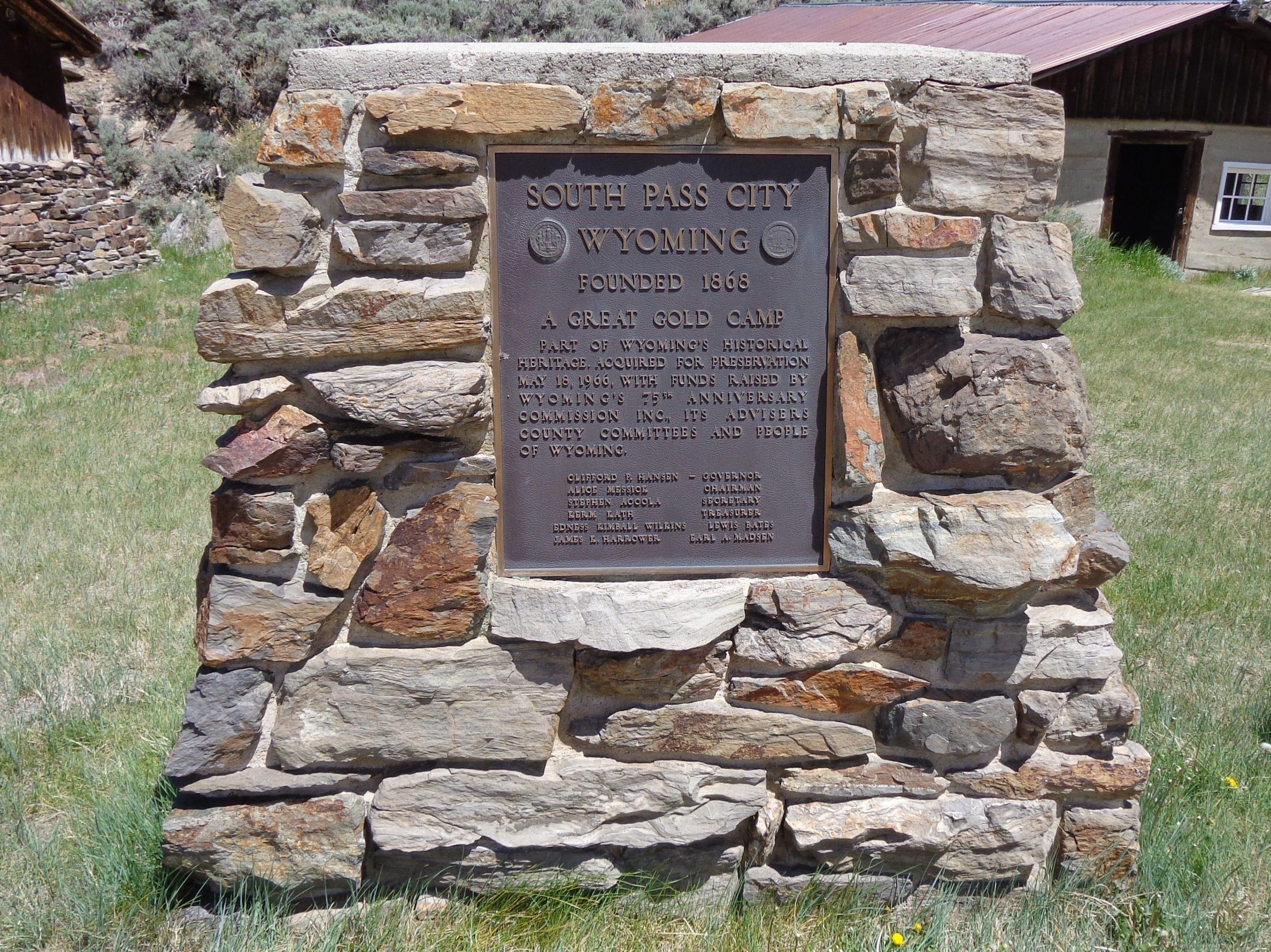 South Pass City 1869
