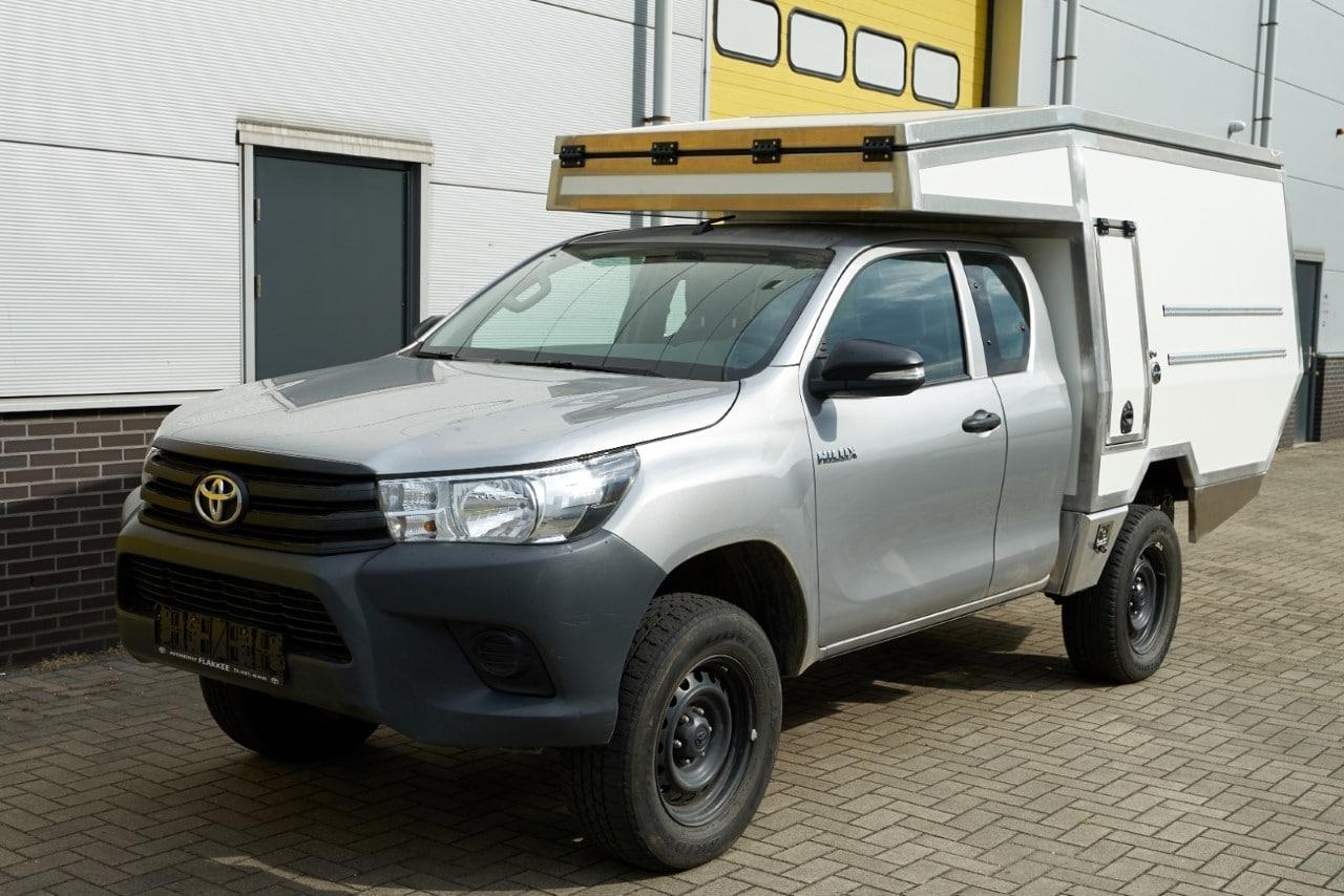 Toyota Hilux custom camper opbouw - Foto Pier Kerkstra