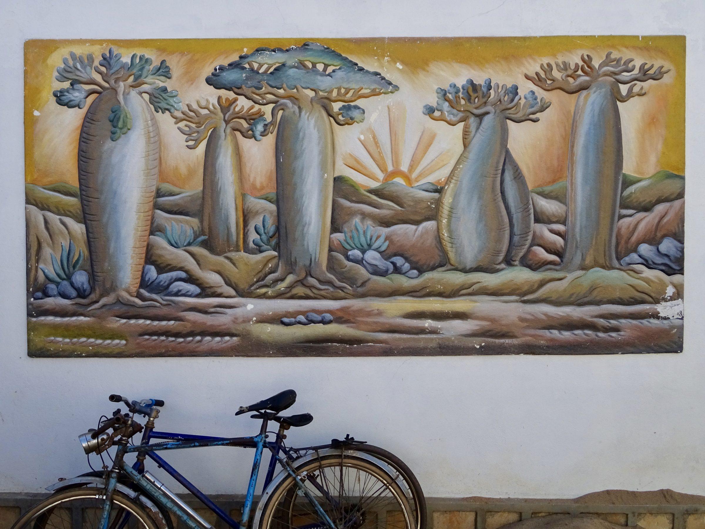 Baobab kunst in Miandrivazo