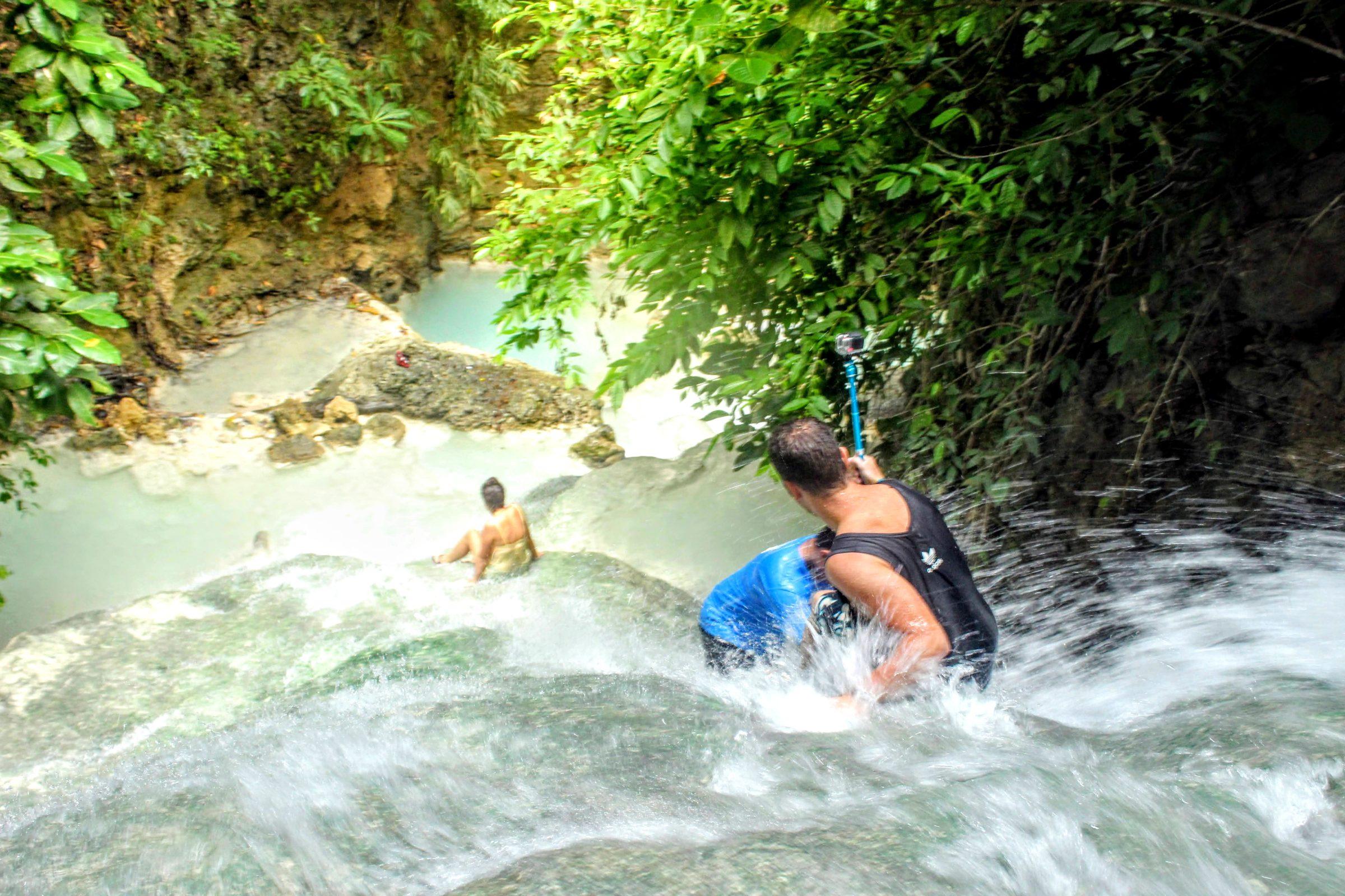Watervallen Oslob - Reisroute Filipijnen