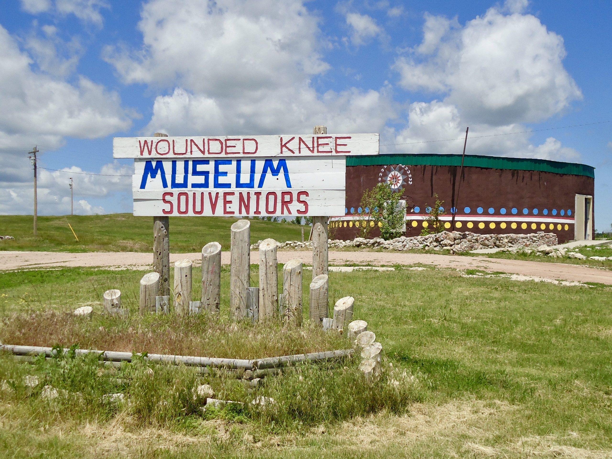 Geïmproviseerd museum Wounded Knee