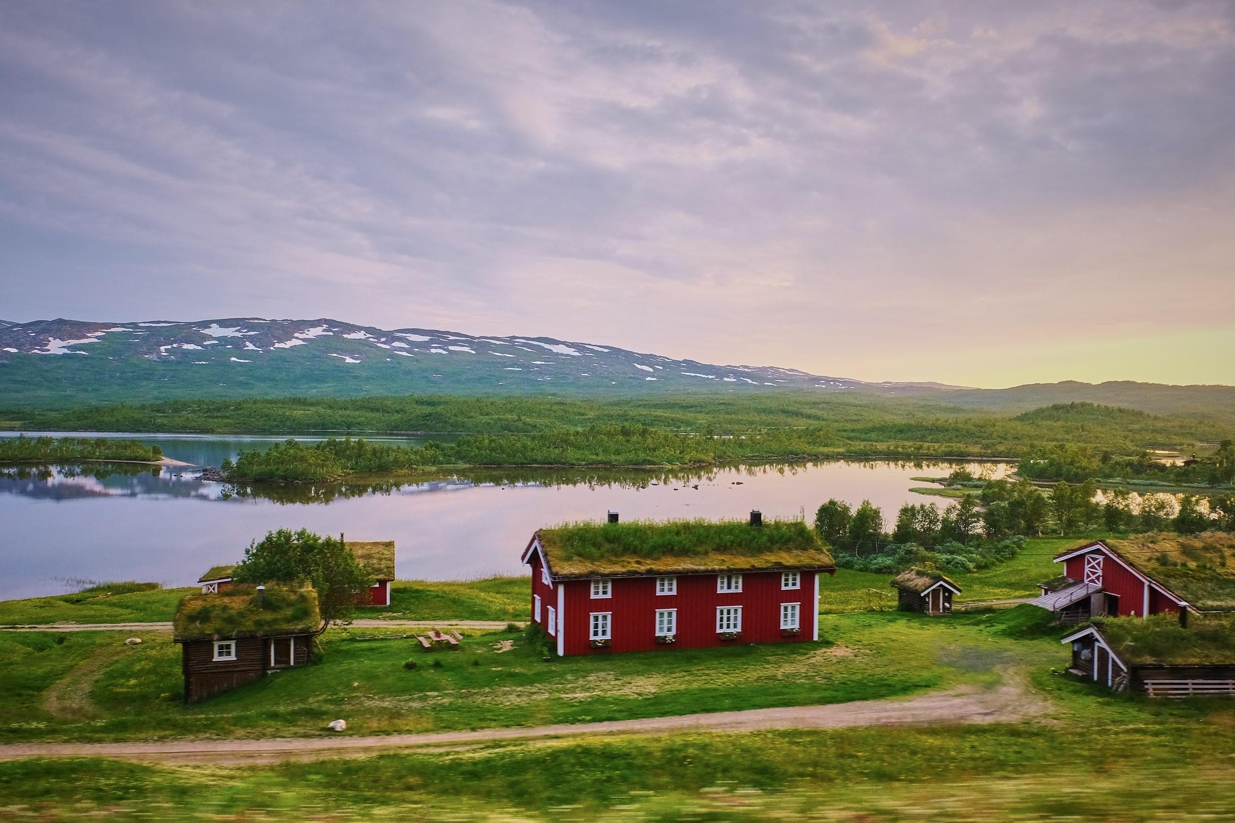 Rust en ruimte in Zweden